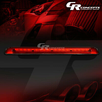 Red Full Led 3Rd Third Tail Brake Light/Lamp For 92-04 Tahoe/Yukon/Suburban