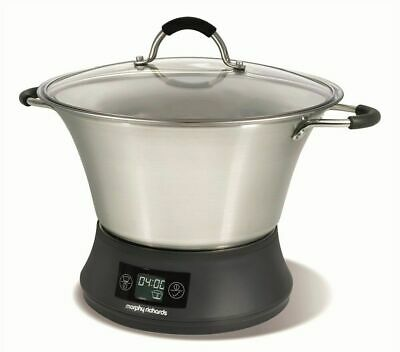 Morphy Richards Supreme Precision 3-In-1 Slow Cooker 800Watts Fast Stew Function