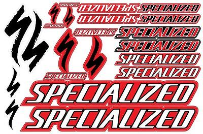 Specialized bicycle frame decals stickers graphic set vinyl aufkleber adesivi #2