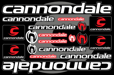 Cannondale bicycle frame decals stickers graphic set vinyl aufkleber adesivi #1