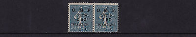 Syria - 1922-23 'O.M.F. Syrie' 2p50 on Sower 50c - 'S' OMITTED VARIETY