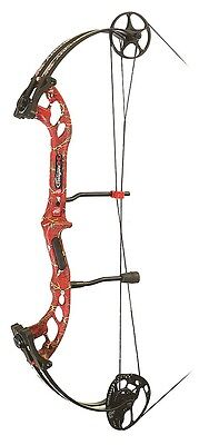 New 2016 PSE Stinger X Compound Bow 60# Right Hand Red Skullworks 2 Camo
