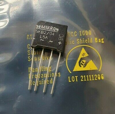 Semikron Skb2/04L5A Bridge Rectifier Qty: 4