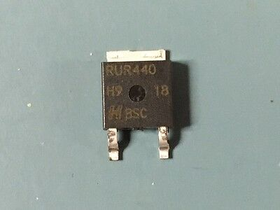 Lot Of (75) New Harris Rurd440S 4A 400V To-252 Diode