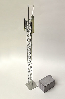 Laser Cut Mobile Telecommunications Mast Oo Gauge 1:76 Model Railway - Lx057-Oo