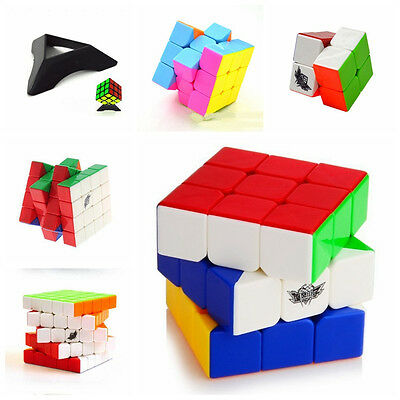 CycloneBoys ABS Ultra-smooth Pro Speed Puzzle Twist Toys Magic Cube For Kids