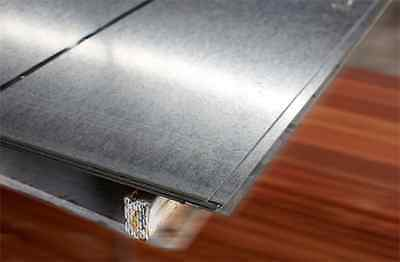 Mild Steel Sheet plate - 2mm thick - galvanised guilotine cut - all sizes