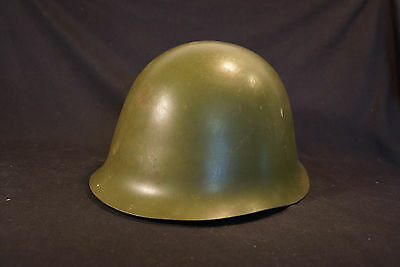 Old Vtg Collectible Eastern Europe Military Helmet Liner Green