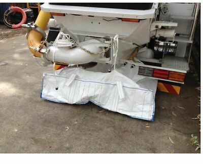 2.4T Concrete Washout Bag with Inner Lining (177cm x 105cm x 39cm)