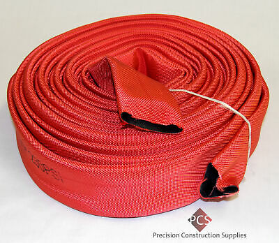 "Heavy Duty 6"" x 20M Red 145Psi Layflat Hose"