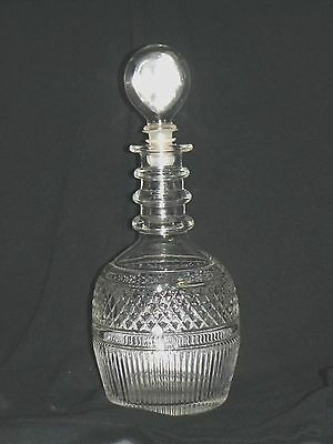 Tiffany & Co. Crystal Whiskey Decanter Seagrams 1776