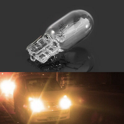 50x Halogen Bulb T10 Side Marker lamp Light 194 W5W 12V 5W Cool White