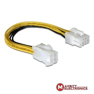 8 pin EPS M   4 pin ATX P4 F 15 cm power cable for additional power for MB / CPU