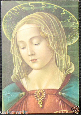 Old Blessed Virgin Mary Holy Card Andachtsbild Santini Estampa   Cc711