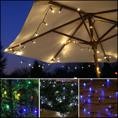 100 Led Solar Outdoor Garden Patio Decking Wedding Party Fairy String Led Lights