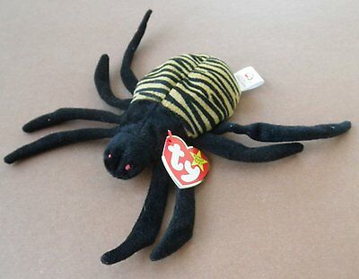 Lot of 50 TY Beanie Babies - Spinner Spider - Mint with Tags  Halloween
