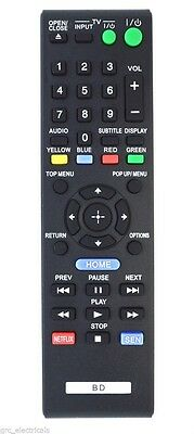 Replacement Remote Control for Sony BDP-S4500 Blu-ray Disc Player