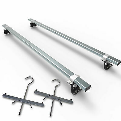 Ford Transit Roof Rack SWB LOW - 3 bar + load stops + rear roller - (AT1LS+A30)