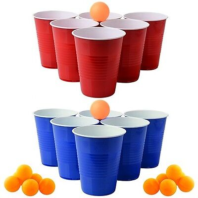 Beer Toss Team Party Drinking Game Kit- 30 Piece Set