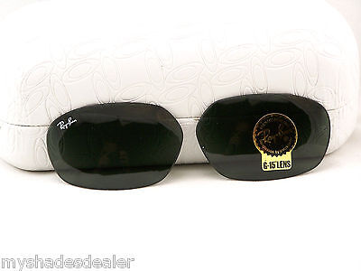 ORIGINAL Ray Ban RB2016 W2578 59mm POLY Lenses For DADDY-O Sunglasses Gray G15