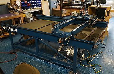MechMate 4' x8' - 3 Phase Router Table with 220V Converter