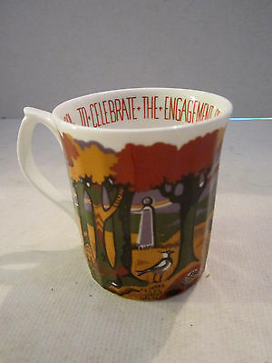 New Forest Mug Engagement HRH Prince of Wales. Feb 24 1981. Ltd Ed. Embroidery