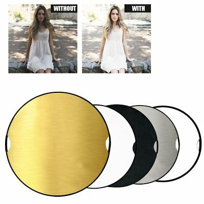 5-in-1 32'' 80cm Photography Studio Multi Photo Disc Collapsible Light Reflector