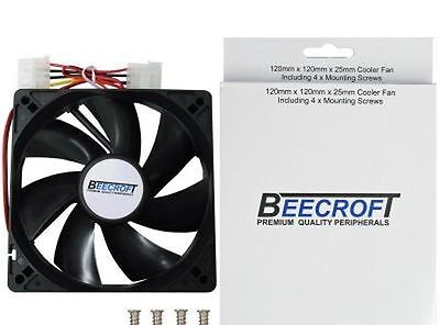 10 x 120mm/12cm Quiet Cooling Case Fan.Ball Bearing Quality(Not Sleeve) Computer