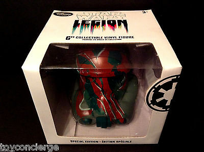 "DISNEY Store STAR WARS LEGION - BOBA FETT HELMET - SPECIAL EDITION 6"" In Box NEW"