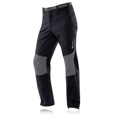 Montane Terra Stretch Mens Black Water Resistant Outdoors Bottoms Pants