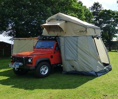 Land Rover Defender & Discovery Mk1 Mk2 Expedition Roof Camping Tent Waterproof