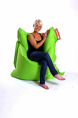 Lime Hippo XXL Adult Bean Bag Water Resistant Beanbag Lounger Gamer Outdoor