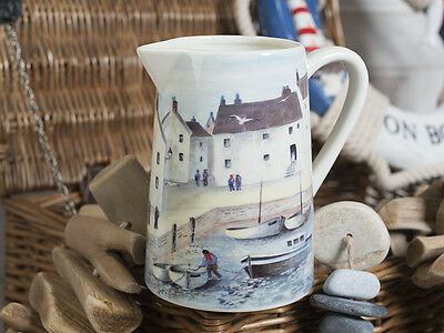 CORNISH HARBOUR Small Ceramic 750ml JUG