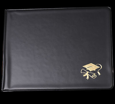 """ONE - 8"""" x 10"""" Diploma / Certificate Holder with Gold Foil Stamp"""