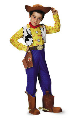 Brand New Toy Story Woody Deluxe Child Halloween Costume