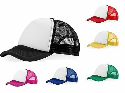 Euro Trucker Cap in 6 Colours Snapback Fashion Cap