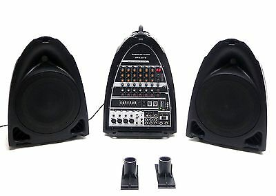 American Audio Dj Ppa-210 All-In-One Portable Pa Audio Sound System 150W Mp3 B