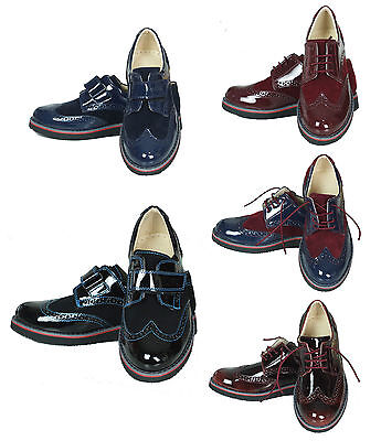 Boys Brogue Shoes, Boys Wedding, Prom, Communion, Party, Formal Shoes