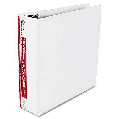 "Office Impressions - Economy View BindeR D-Ring 3"" - White 600 Sheet Capacity"