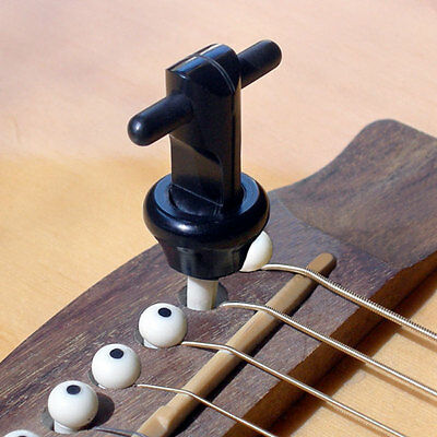 Snapz 2.0 Acoustic Guitar Bridge Pin Puller for 6 and 12 String Guitars