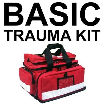 FILLED Trauma Paramedic Style Professional Survival First Aid Kit - TGA DEALER