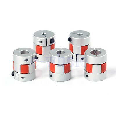 5/6.35/8/10/12mm Flexible Plum Coupling Shaft CNC Stepper Motor Coupler K6