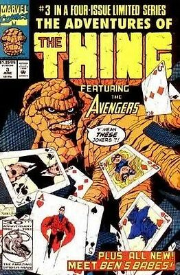Adventures of the Thing (1992) #3 of 4