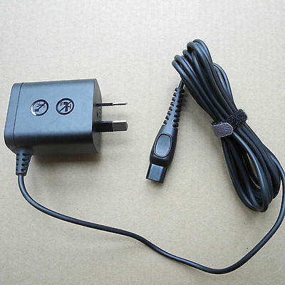 Genuine AU Plug For PHILIPS Shaver Charger Power Lead Cord (FITS Type:HQ8505)