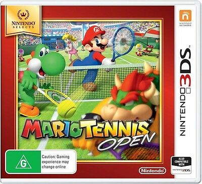 Nintendo Selects Mario Tennis Open  - 3DS game - BRAND NEW