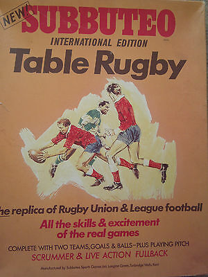 Subbuteo Spare Rugby Players Hub