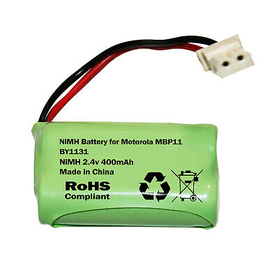 Motorola MBP11 Baby Monitor Battery Rechargeable Pack BY1131 2.4v 400mAh NiMH