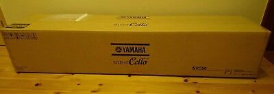 New YAMAHA Silent Cello SVC50 Acoustic-Body Electric Headphone MADE IN JAPAN