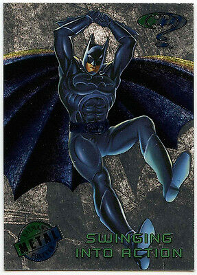Batman Forever Metal #8 Silver Flasher Trade Card (C174)