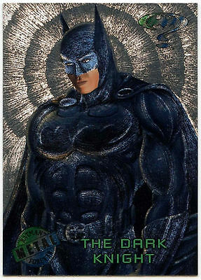 Batman Forever Metal #35 Silver Flasher Trade Card (C174)